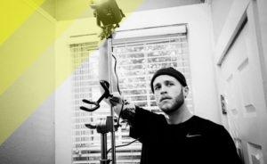 Il vero pilastro all'interno di uno studio fotografico: stativo Manfrotto